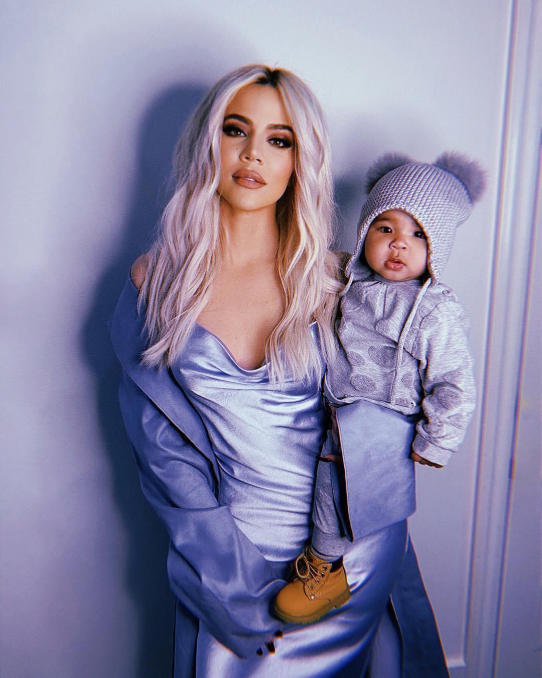 Хлоя Кардашян с малышкой1