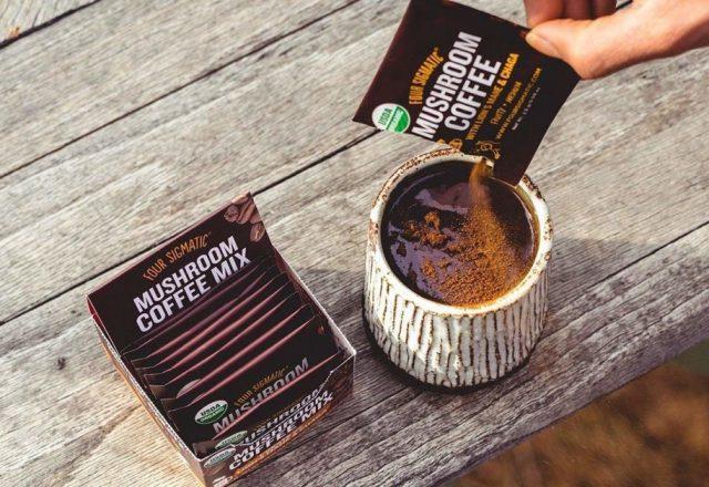 Four Sigmatic грибной кофе