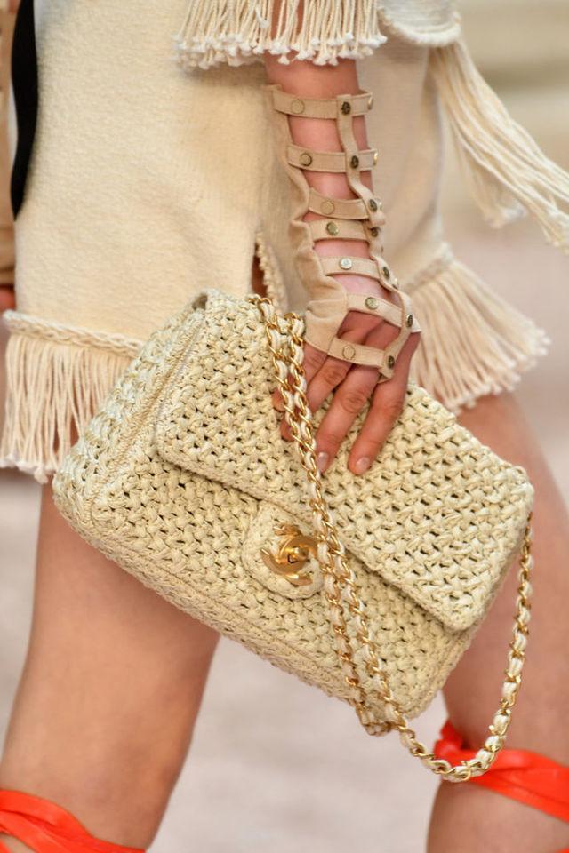 Плетеные сумки-2019