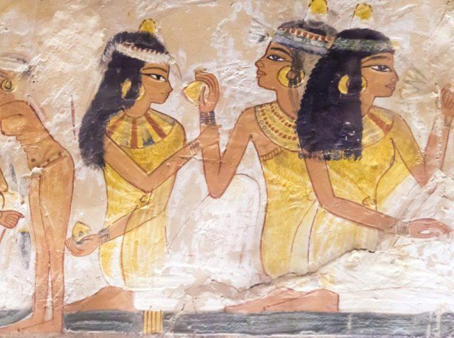 Макияж глаз в Древнем Египте