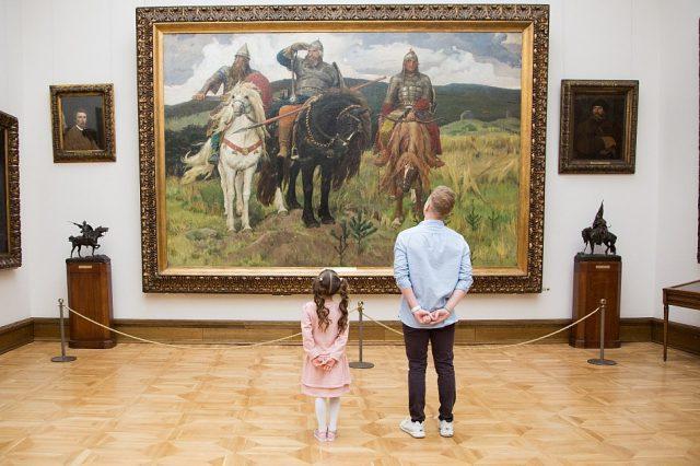 Посещение музея с ребенком