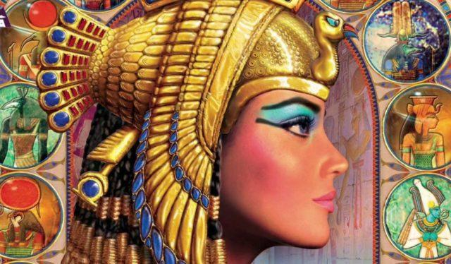 Румяна женщин Древнего Египта