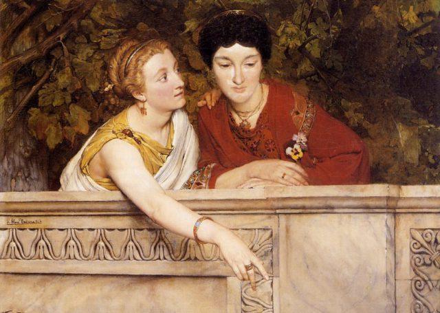 Женщины в Древнем Риме