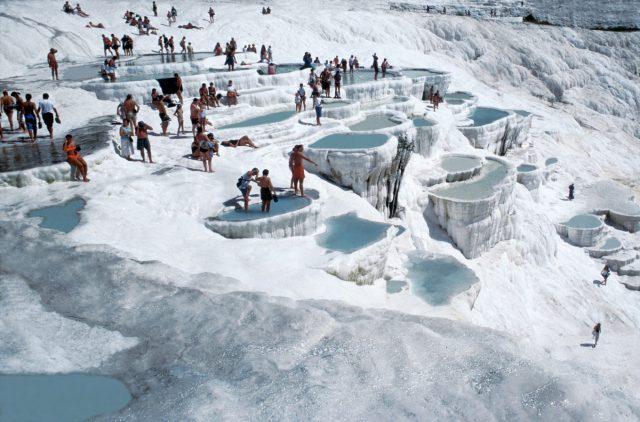 Курорт минеральных вод Памуккале, Турция