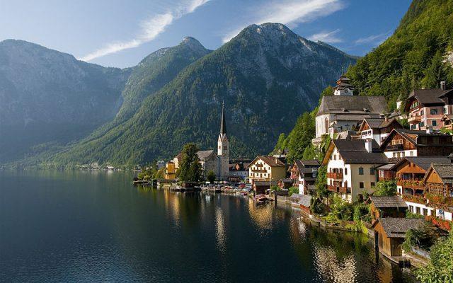 Курорт минеральных вод Бад Ишль, Австрия