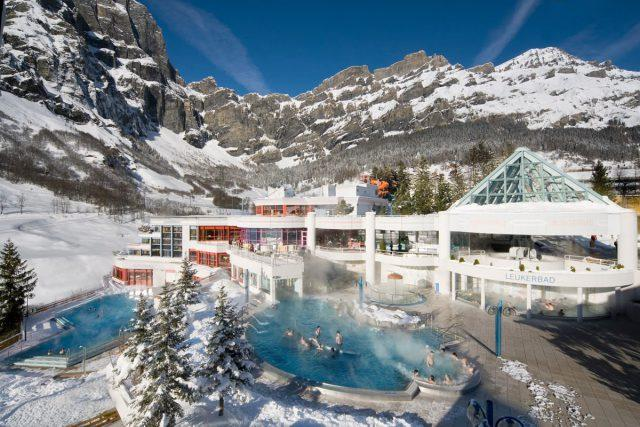 Курорт минеральных вод Лейкербад, Швейцария
