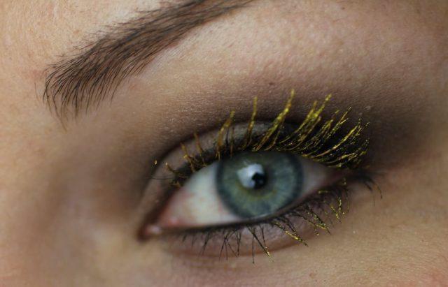 Цветная тушь для серых глаз