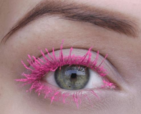 Цветная тушь для зеленых глаз