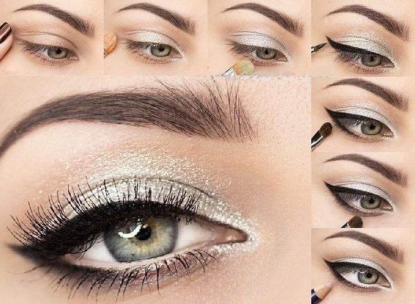 Голливудский макияж глаз