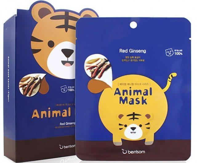 Увлажняющая маска для лица Animal Mask Тигр