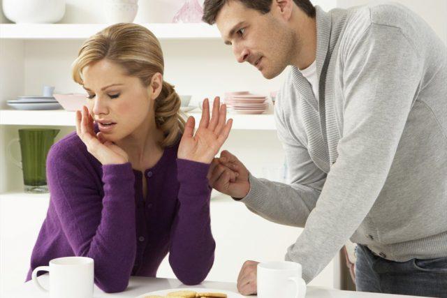 Недостаток общения супругов