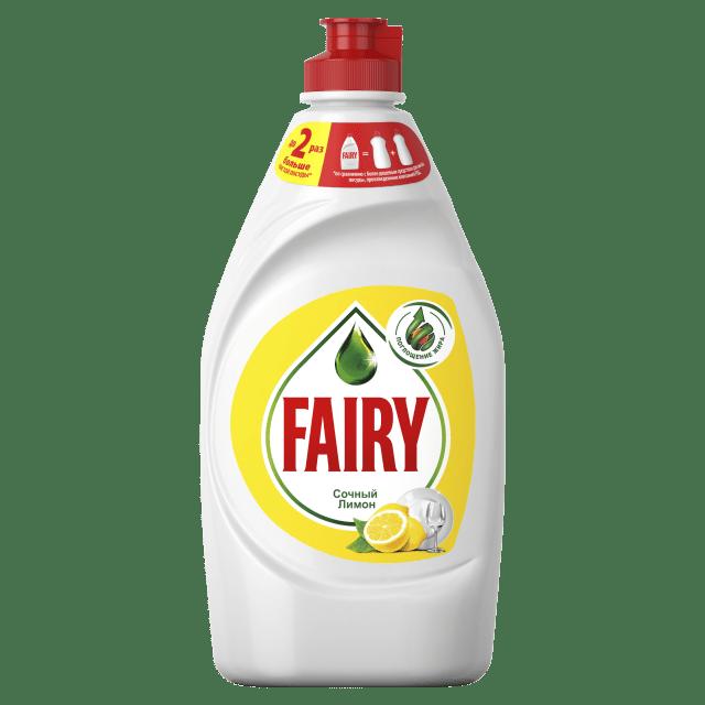 Новый Fairy отлично отмывает самую жирную посуду