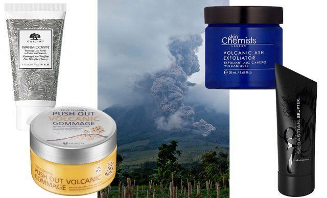 Косметика на основе вулканического пепла