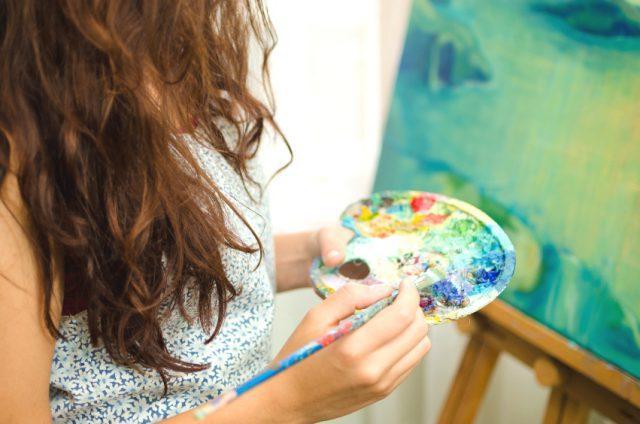 Занятия творчеством