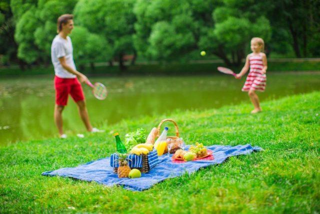 Игры на озере с детьми