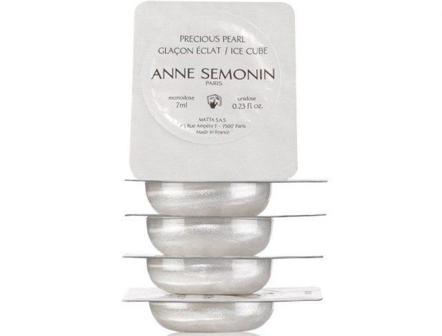 Ледяные кубики для массажа от Anne Semonin