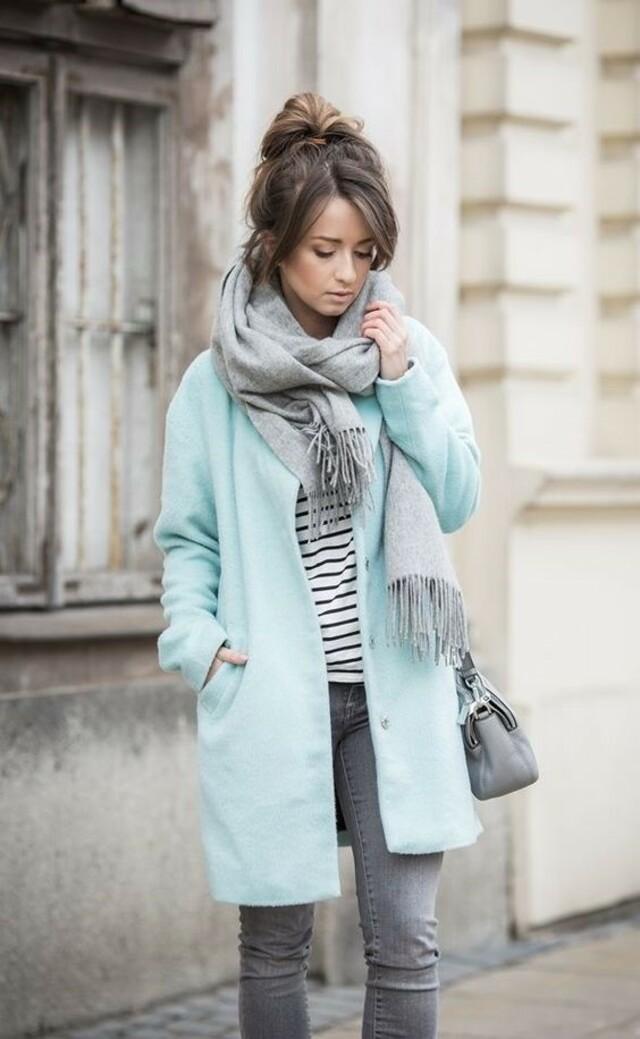 Одежда цвета мяты - как правильно составлять образы