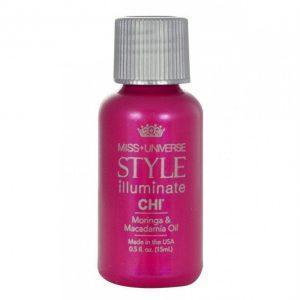 CHI Miss Universe Style Illuminate Moringa & Macadamia Oil