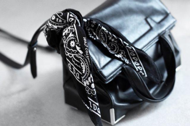 Бандана на сумке