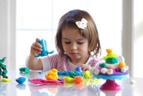 Как сделать домашний пластилин своими руками, лунный или кинетический песок для лепки - инструкция