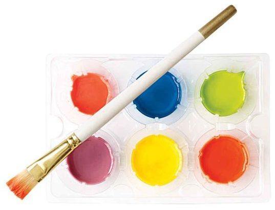 8 рецептов красок для рисования ребенку в домашних условиях – пальчиковые, витражные, натуральные и т.д.
