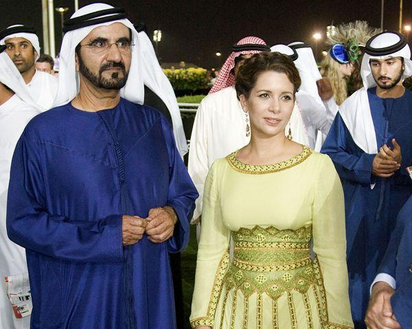 Принцесса Хайя и Мохаммед Аль Мактума