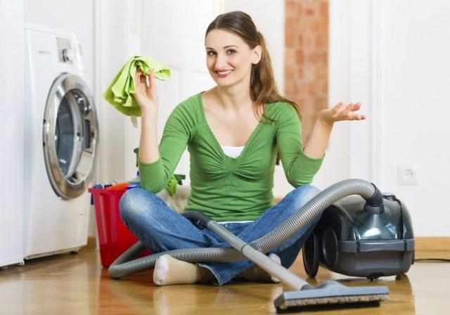 Работа по дому без перчаток