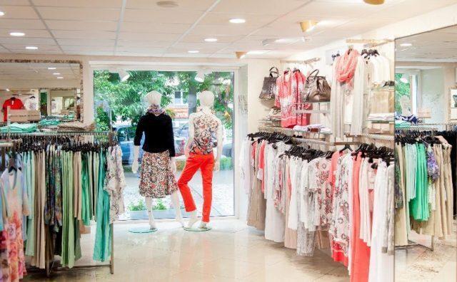 Сетевые магазины одежды