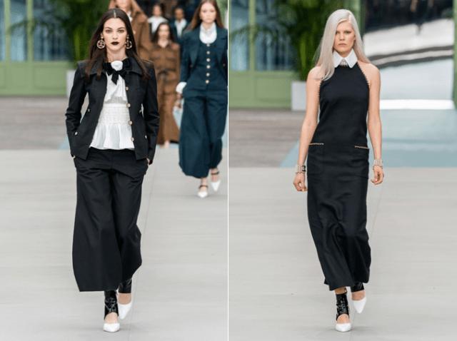 Черно-белая бизнес мода