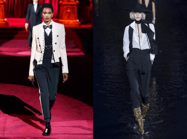Черно-белая бизнес мода1