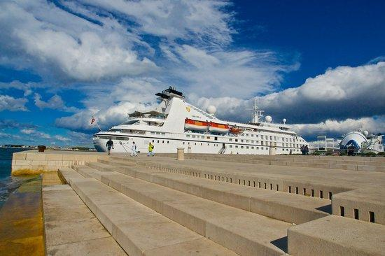 Хорватия, Морской Орган в Задаре