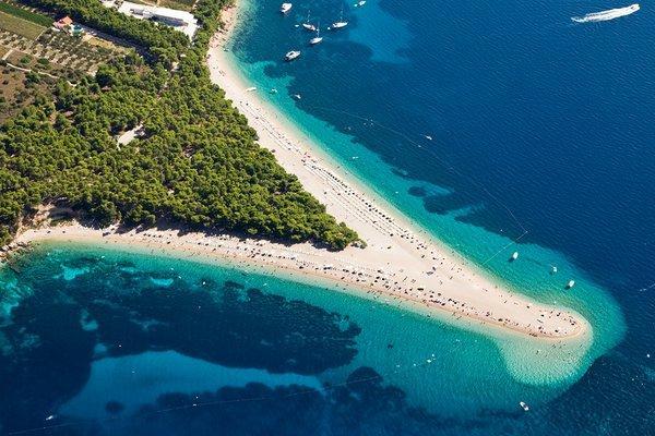 Хорватия, Пляж Златни-Рат, Брач
