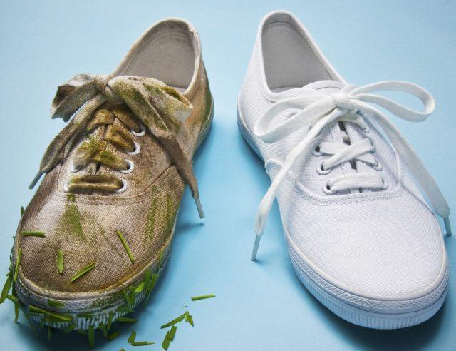 Как отмыть и отбелить белые кроссовки - 15 средств, которые работают