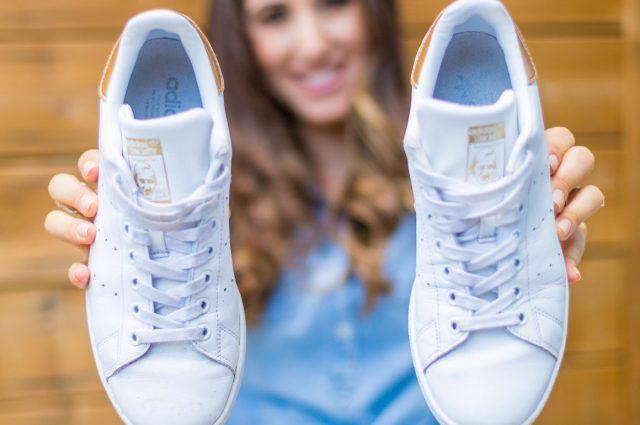 Как отбелить белую подошву кроссовок