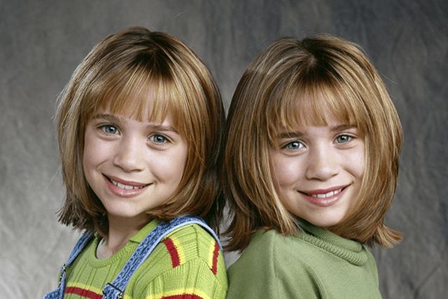 Мэри-Кейт и Эшли Олсен