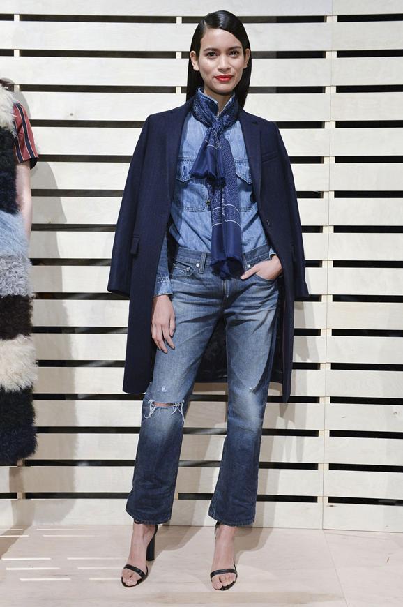 Модные образы с джинсами