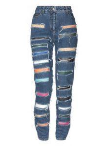 Джинсовые брюки Jeremy Scott