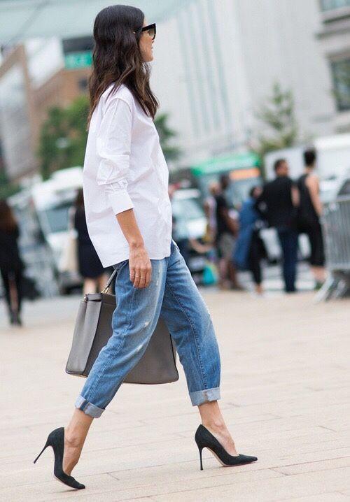 С чем носить модные джинсы