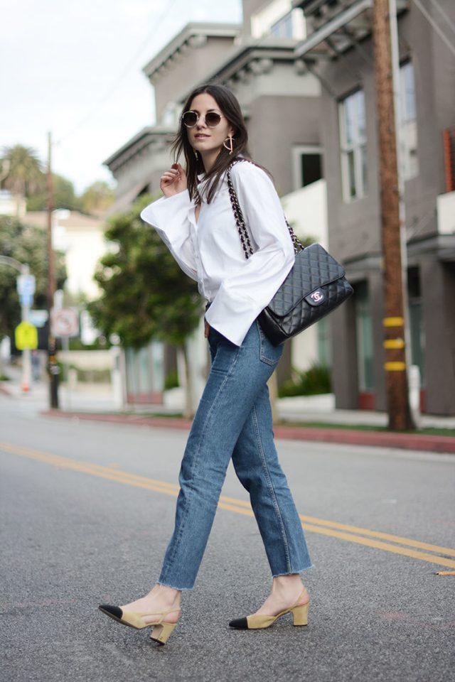 С чем сочетать джинсы