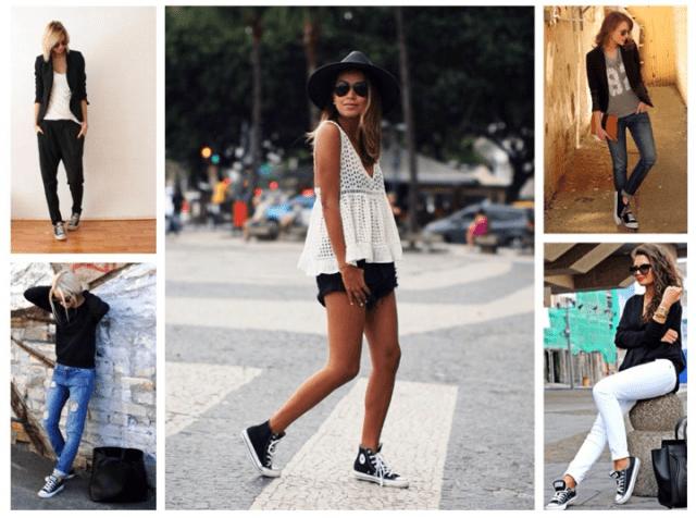 С чем носить кеды