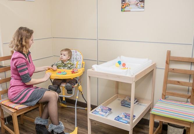 Доступ в комнату матери и ребенка