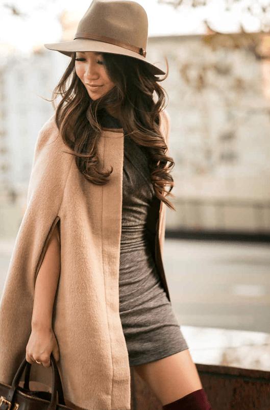 Фасоны кашемирового пальто11