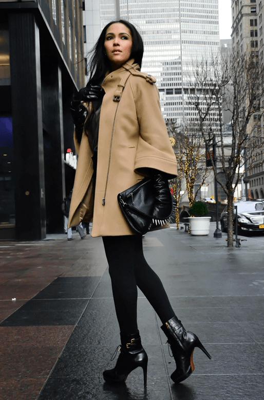 Фасоны кашемирового пальто 4