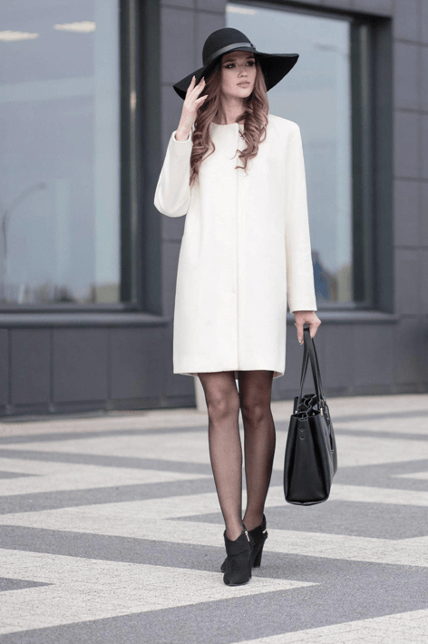 Фасоны кашемирового пальто 8