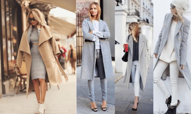 Фасоны кашемирового пальто 9