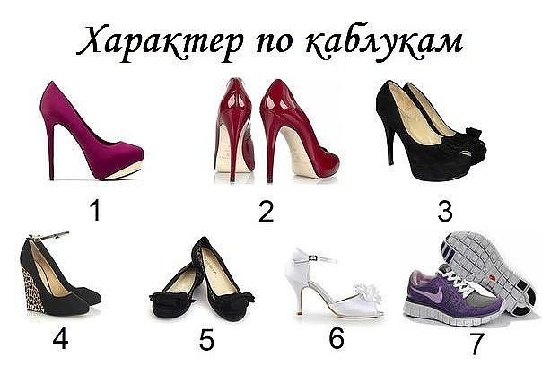 Как по обуви определить характер человека