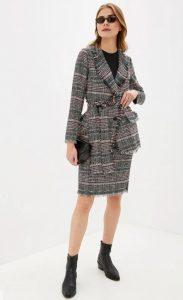 Модная клетка осенью: внимание на жакеты, плащи и пальто