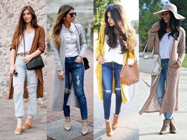 Модные женские кардиганы осени 2019 - какие выбрать и с чем носить