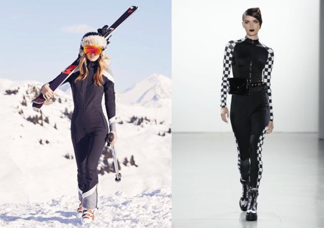 Модные лыжные костюмы