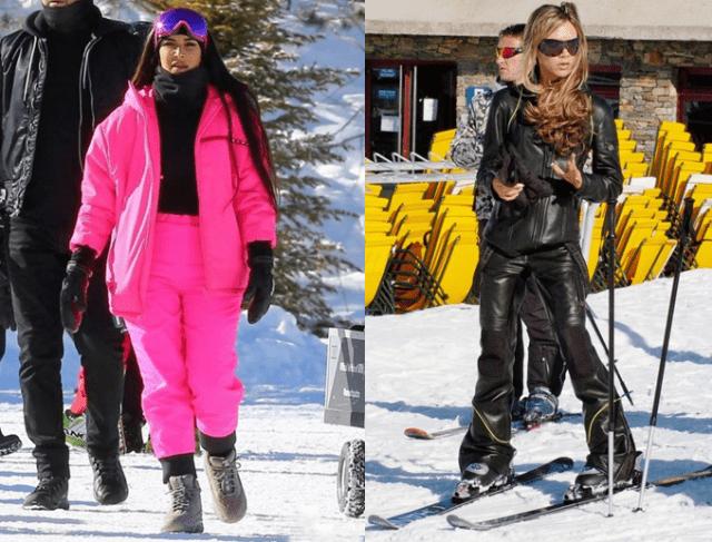 Модные лыжные костюмы10